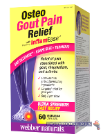 WEBBER Остео Osteo Gout Pain Relief 570мг 60 капсули при подагра