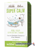 WEBBER Super Calm - Антипаник формула 60 капсули